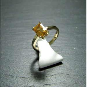 9ct Yellow Gold Citrine Dress ring