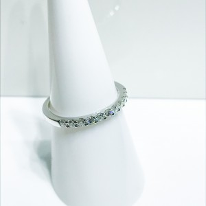 18ct White Gold Diamond Eternity Style Ring